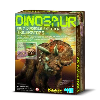 """4M Kasinėjimų rinkinys """"Triceratopsas"""""""