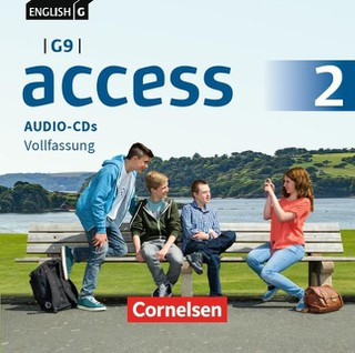 English G Access - G9 - Band 2: 6. Schuljahr - Audio-CDs
