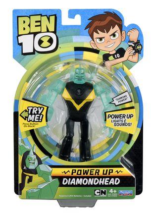 BEN10 figūrėlė Power up Diamondhead, 76602
