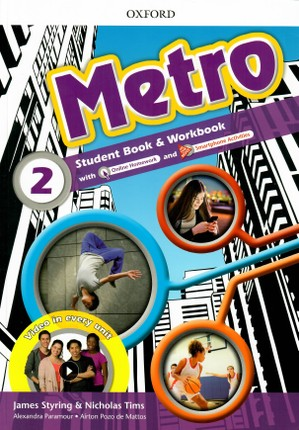 Metro: Level 2: Student Book and Workbook
