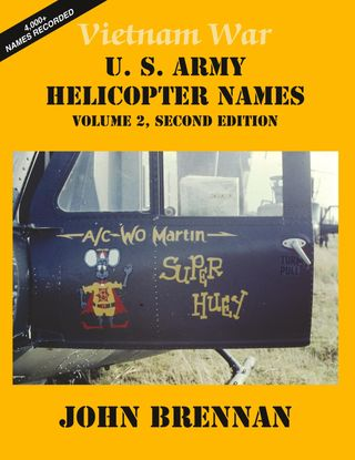 Vietnam War U.S. Army Helicopter Names