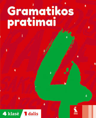 Gramatikos pratimai 4 klasei (1 dalis)