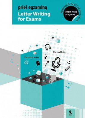 Prieš egzaminą. Letter writing for exams