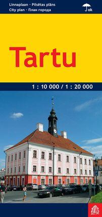 Tartu miesto žemėlapis 1 : 20 000 / 1 : 10 000