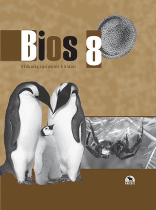 Bios 8. Biologijos užduočių sąsiuvinis 8 kl. (2018)