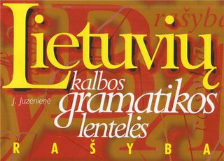 Lietuvių kalbos gramatikos lentelės. Rašyba