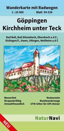 Göppingen - Kirchheim unter Teck 1 : 25 000, Blatt 54-539