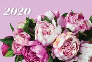 2020 m. sieninis kalendorius (gėlės)