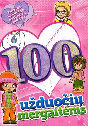 100 užduočių mergaitėms