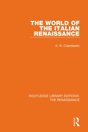 The World of the Italian Renaissance