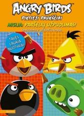 Angry Birds. Piktieji paukščiai. Misija: paršelių užpuolimas