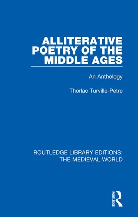 Alliterative Poetry of the Later Middle Ages