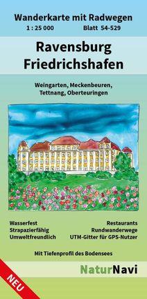 Ravensburg - Friedrichshafen 1 : 25 000, Blatt 54-529
