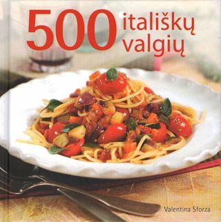 500 itališkų valgių