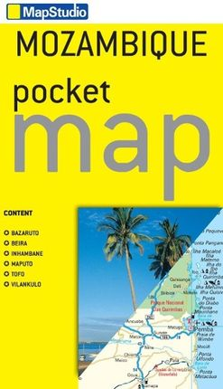 Mozambique Pocket Map  1 : 3 100 000