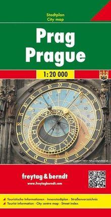 Prag Stadtplan 1 : 20 000