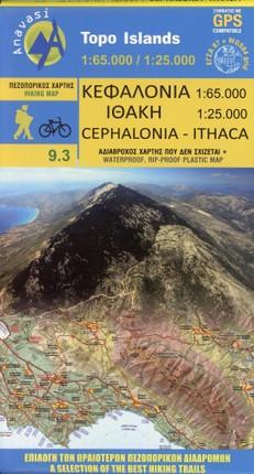 Cephalonia 1 : 65 000 - Ithaca 1 : 25 000