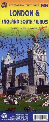 London & England South / Wales 1 : 8000 / 1 : 600 000