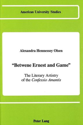 «Betwene Ernest and Game»