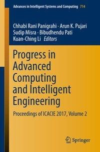 Progress in Advanced Computing and Intelligent Engineering
