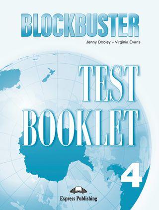 Blockbuster 4. Test booklet. Testų knygelė