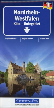KuF Deutschland Regionalkarte 03 Nordrhein-Westfalen 1 : 275 000