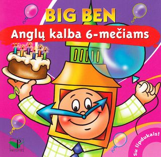 Big Ben. Anglų kalba 6-mečiams
