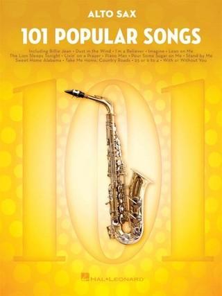 101 Popular Songs - Alto Saxophone