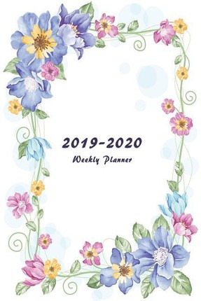 2019-2020 Weekly Planner: Two Year Planner 6 X 9 with To-Do List (Floral Cover Volume 1)