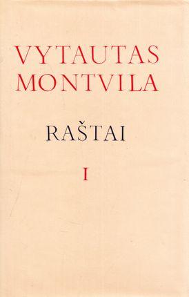 Vytautas Montvila. Raštai (I ir II tomai)