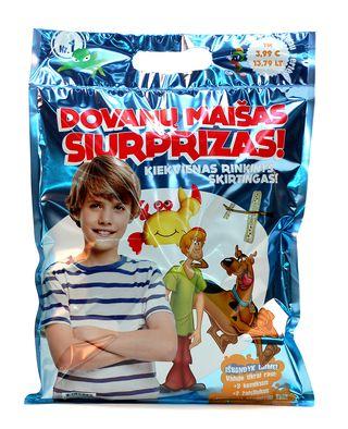Siurprizas berniukui! DOVANŲ MAIŠAS: 3 komiksai, 2 žaisliukai + SIURPRIZAS SPECIALIAI TAU! Kiekvienas maišas skirtingas - išbandyk laimę!