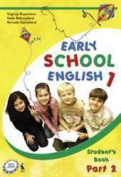 Early school english 1. Anglų kalba 2 kl. 1-oji knyga 2 d. (ankstyvasis ugdymas)