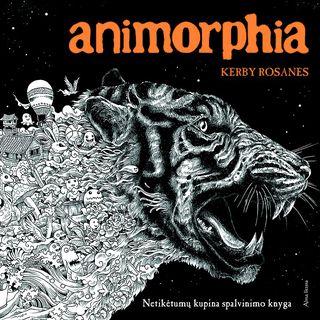 Animorphia. Netikėtumų kupina spalvinimo knyga