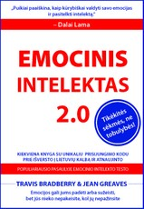EMOCINIS INTELEKTAS 2.0: veiksmingos, moksliniais tyrimais pagrįstos strategijos emociniam intelektui lavinti + prisijungimo kodas prie TOP 1 emocinio intelekto testo pasaulyje (lietuvių kalba)