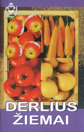 Derlius žiemai (knyga su defektais)