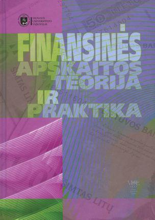 Finansinės apskaitos teorija ir praktika