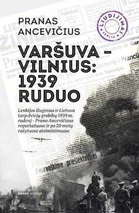 Varšuva–Vilnius, 1939 m. ruduo