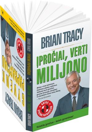 """B. Tracy dvi knygos vienoje: """"Gyvenk paprasčiau"""" ir """"Įpročiai verti milijono"""""""