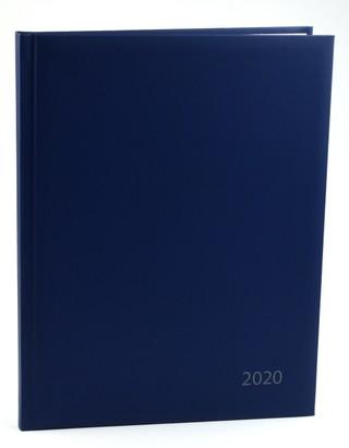 Darbo kalendorius 2020 m. A4 (tamsi mėlyna)