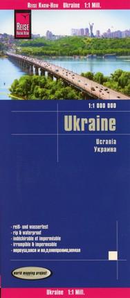 Reise Know-How Landkarte Ukraine (1:1.000.000)