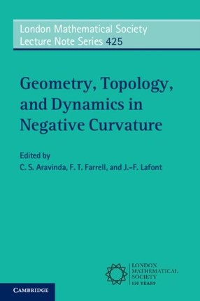 Geometry, Topology, and Dynamics in Negative Curvature