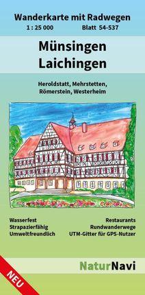 Münsingen - Laichingen 1 : 25 000, Blatt 54-537