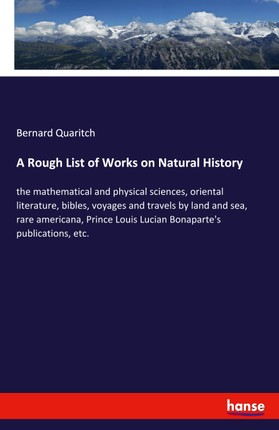 A Rough List of Works on Natural History