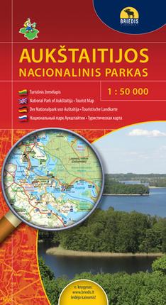 Aukštaitijos nacionalinis parkas. 1 : 50 000