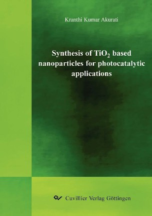 """Synthesis of TiO2 based nanoparticles for photocatalytic applications"