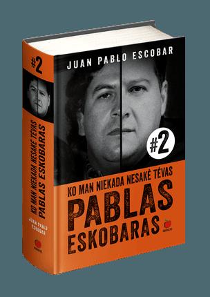 TAI, KO MAN NESAKĖ TĖVAS PABLAS ESKOBARAS – 2017 m. perkamiausios knygos PABLAS ESKOBARAS – MANO TĖVAS tęsinys! Įtraukiantis, prikaustantis ir sukrečiantis garsiausio visų laikų narkobarono sūnaus pasakojimas – tai, kas ligi šiol buvo nutylėta!