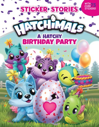 A Hatchy Birthday Party (Sticker Stories)