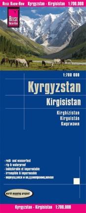 Reise Know-How Landkarte Kirgisistan / Kyrgyzstan (1:700.000)