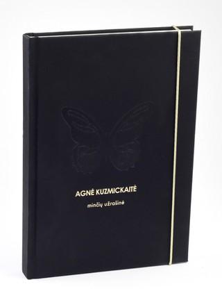 Agnės Kuzmickaitės užrašinė. Elegantiška, stilinga, originali dovana kiekvienai moteriai ir merginai
