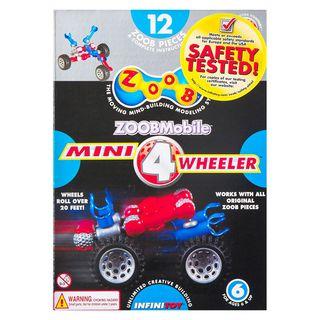 """ZOOBMobile konstruktorius """"Mini Wheeler 4"""""""